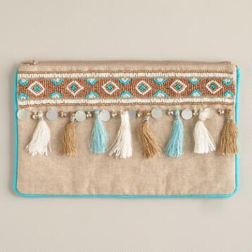 Tassels and Fringe Jewelry Pouch
