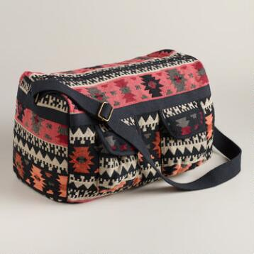 Warm Tribal Weekender Bag
