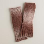 Mauve Ombre Arm Warmers