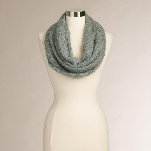 Gray Furry Snood