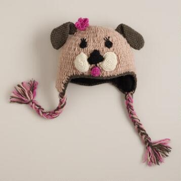 Kids Puppy Wool Hat
