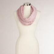 Pink Faux Fur Snood