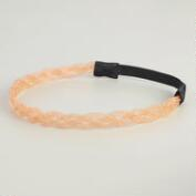 Blush Pink Braided Bead Headband