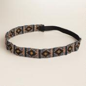 Black Diamond Geometric Headband