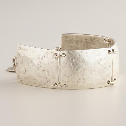 Silver Turkish Square Bracelet