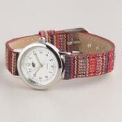 Fall Tribal Fabric Watch