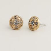 Art Deco Stud Earrings