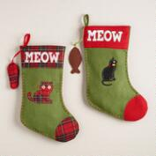 Cat Pet Stocking