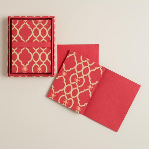 Ethel Handmade Boxed Notecards, Set of 8