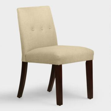 Linen Jule Dining Chair