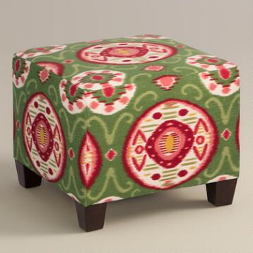 Watermelon Global Lela Ottoman