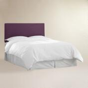 Aubergine Velvet Parke Full / Queen Headboard