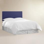 Navy Velvet Parke Full / Queen Headboard
