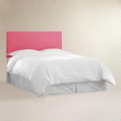 Pink Velvet Parke Full / Queen Headboard