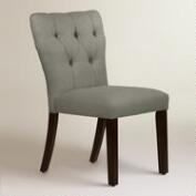 Linen Tufted Gabie Dining Chair