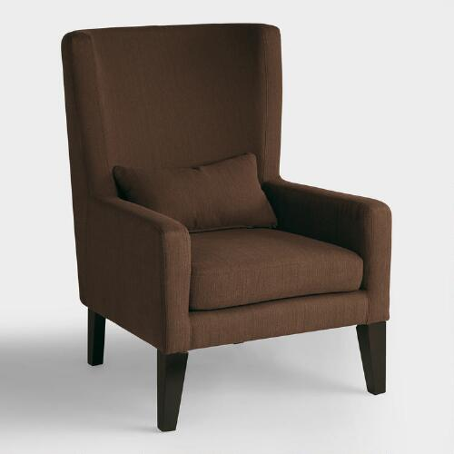 Chocolate Brown Triton High Back Chair