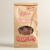 Asher's Chocolate Potato Chips