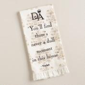 Downton Abbey Violet Kitchen Towel