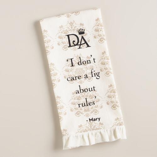 Downton Abbey Lady Mary Kitchen Towel