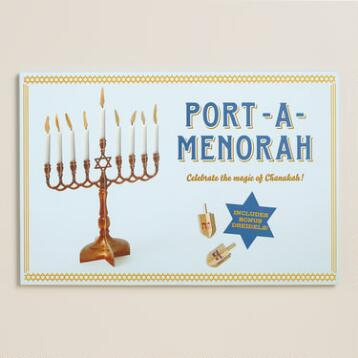 Port-A-Menorah