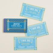 Jewish Tokens of Affection Coupon Book
