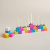 Building Block Menorah