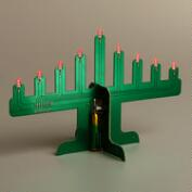 LED Motherboard Menorah