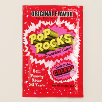 Original Cherry Pop Rocks Candy, Set of 12