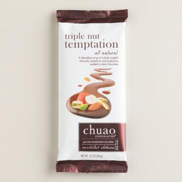 Chuao Triple Nut Temptation Chocolate Bar