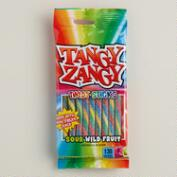 Tangy Zangy Wild Fruit Twist Sticks Sour Candy