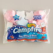 Red, White and Blue Star-Shaped Marshmallows