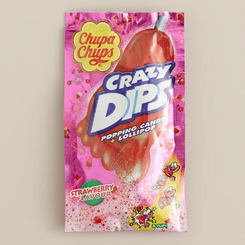 Chupa Chups Strawberry-Flavored Crazy Dips