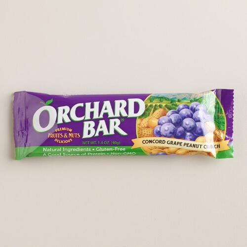 Orchard Grape and Peanut Bar