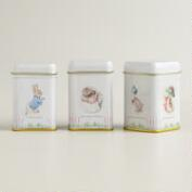 Peter Rabbit Loose-Leaf Tea Tin Trio