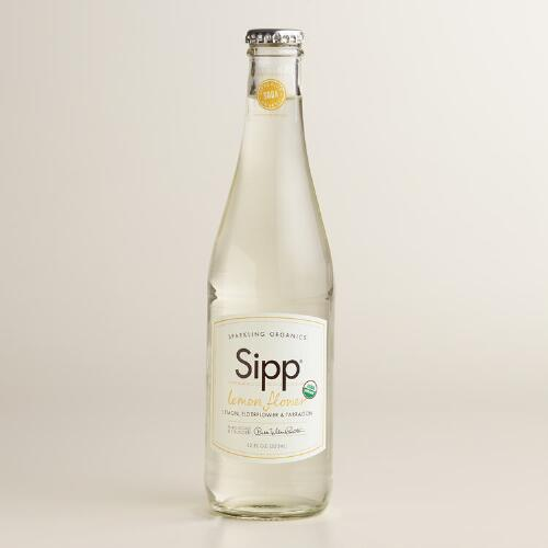 Sipp Organic Lemon Flower Soda