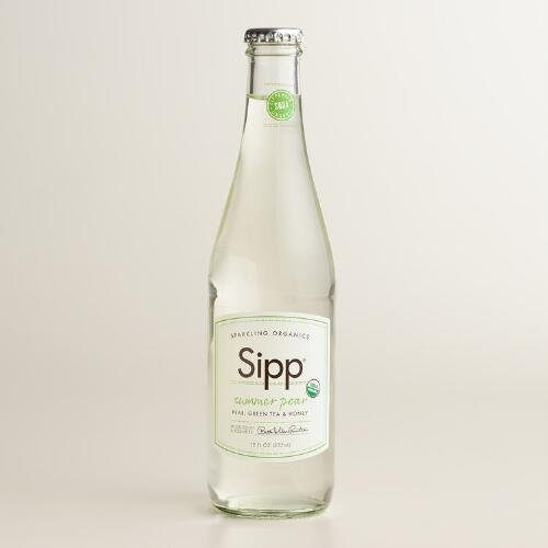 Sipp Organic Summer Pear Soda