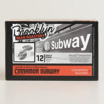 Brooklyn Bean Cinnamon Subway Single-Serve Coffee Cup