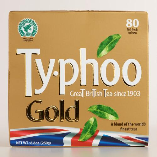 Typhoo Gold Tea, 80-Count