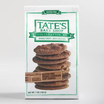 Tate's Gluten-Free Double Chocolate Chip Cookies
