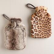 Faux Fur Hot  Water Bottles