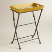Soleil Tile Print Tray and Butler Stand Collection