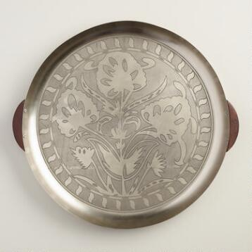 Boulevard Metal Serving Tray
