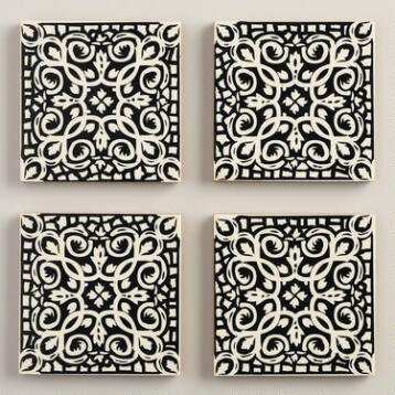 Boulevard Coasters, Set of 4