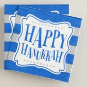 Happy Hanukkah Cocktail Napkin, 20-Count