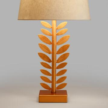 Gold Leaf Accent Lamp Base