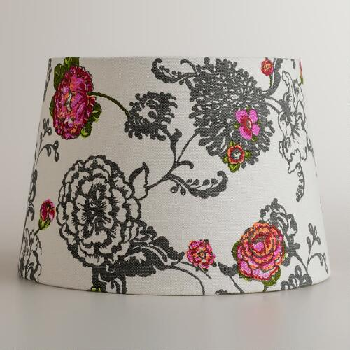 Laurent Floral Accent Lamp Shade