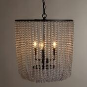 Clear Bead Chandelier