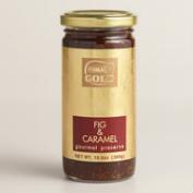 Gold Gourmet Fig and Caramel Preserves