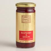 Gold Gourmet Raspberry and Lemon Preserves