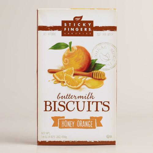 Sticky Fingers Bakeries Honey Orange Biscuit Mix, Set of 6